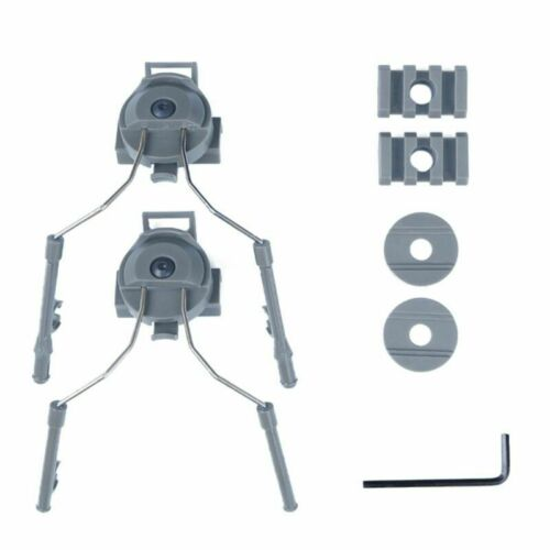 1Set Of Tactical Helmet Rail Adapter Set Headset Suspension For Fast MICH Helmet