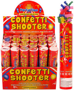 20cm-Large-Party-CONFETTI-Cannons-Poppers-Shooter-Wedding-New-Years-Large-Giant