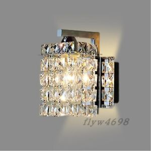 Image Is Loading Crystal Wall Lamp Luminaria Home Lighting Living Room
