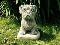 Bulldog Puppy - Latex Only Garden Ornament Mould