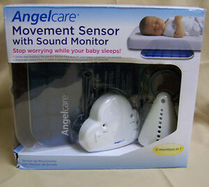 AngelCare-Baby-Monitor-System-Motion-amp-Sound-AC201-W-New-recall-Cord-Cover-Kit