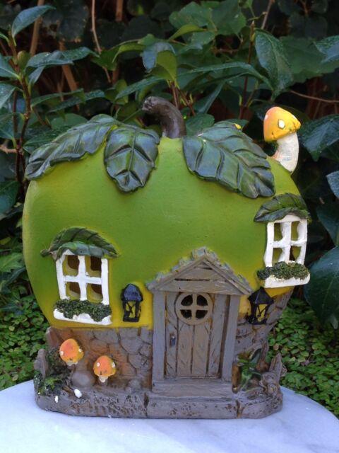 Miniature Dollhouse FAIRY GARDEN ~ BEACH Party MANGO Fruit House with LED Light