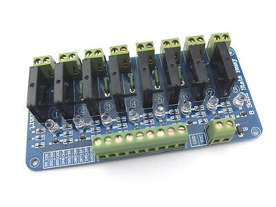 250V 2A 8 Channel OMRON SSR G3MB-202P Solid State Relay Module For Arduino