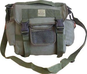 Mens-Travel-Army-US-Combat-Canvas-Messenger-Sport-Satchel-Shoulder-Bag-Green-New