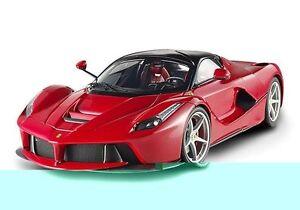 1-18-Mattel-HOT-WHEELS-2013-Ferrari-LaFerrari-red