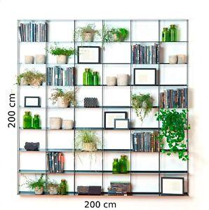 Libreria-Krossing-Kriptonite-Varie-dimensioni-e-colori-etagere-Bucherregal