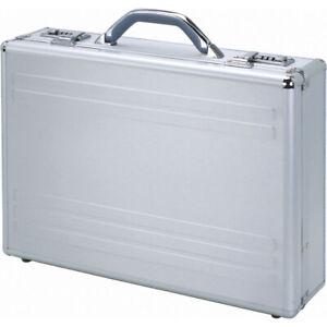 ALUMAXX-Laptop-Attachekoffer-KRONOS-Aktenkoffer-Dokumente-Aluminium-silber-45131