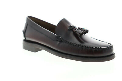 Sebago Classic Will 7001R20 Mens Brown Loafers /& Slip Ons Tasseled Shoes