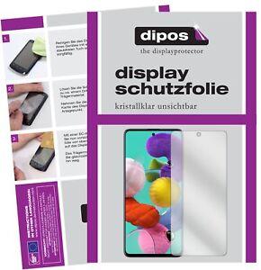 2x-Folie-fuer-Samsung-Galaxy-A71-Schutzfolie-klar-Displayschutz-Display-Schutz