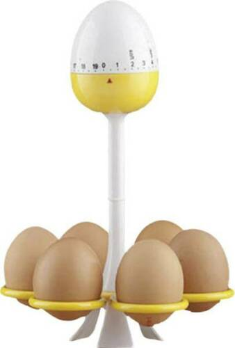 FORNELLO per uova per 6 uova con timer Timer küchentimer CUCINA CUCINARE SVEGLIA