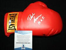 Bob Arum signed & inscribed boxing glove, Ali, Pacquiao,Top Rank, Beckett BAS