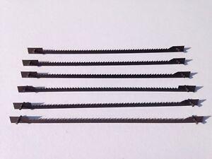 ✅ 6 Super schmal Holz Sägeblätter für OBI Hobbylux-450 Dekupiersäge  ✅
