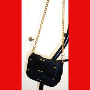 Badgley-Mischka-Michelle-Leather-Studded-Mini-Cross-Body-Bag-Black