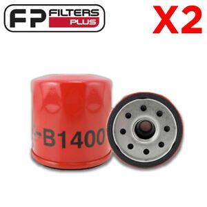 2-x-B1400-USA-MADE-Oil-Filter-1990-to-1991-Kawasaki-Mule-540-RMZ119-KN303