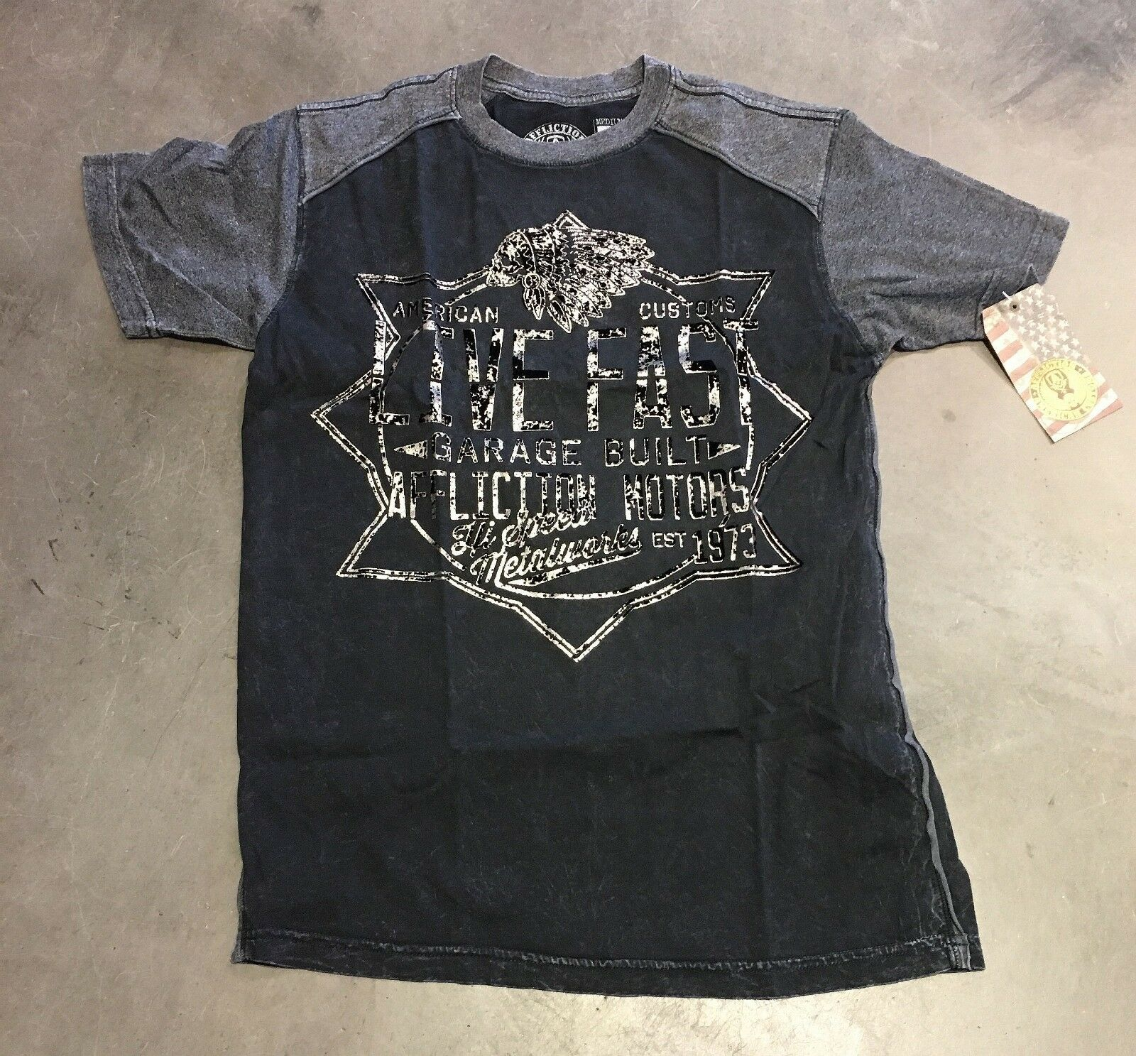 AFFLICTION hemd T-hemd   a426
