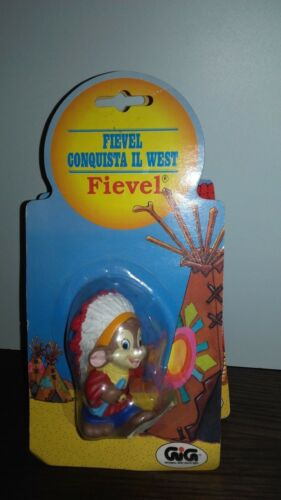 FIEVEL ALLA CONQUISTA DEL WEST GIG pupazzo fievel giocattolo