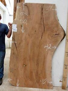 Beech Natural Live Edge Thick Wood Slab