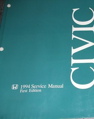 1994 HONDA CIVIC Service Shop Workshop Repair Manual NEW