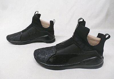 de1f8269723a Puma Fierce Kurim Women s Training Shoes Black Dark Shadow 189866-04 Size 9