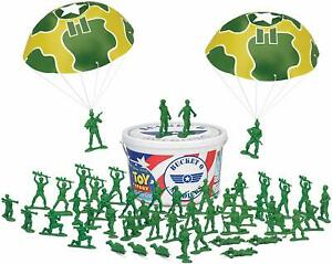 Disney-PIXAR-Toy-Story-Collection-Bucket-O-Soldiers-Green-Army-Men-72-Soldiers