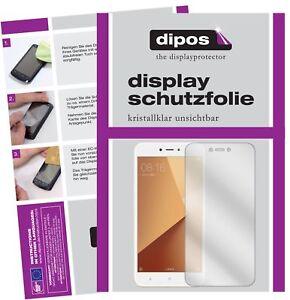 2x-Xiaomi-Redmi-Note-5A-Protector-de-Pantalla-protectores-transparente-dipos