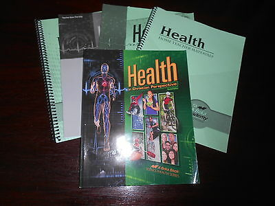 Abeka Homeschooling HEALTH IN CHRISTIAN PERSPECTIVE student/te lot  8-12THGR