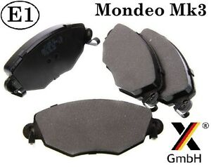Ford-Mondeo-mk3-00-07-Jaguar-X-type-Front-Brake-Pad-Set-4-pads-NEW-adb01110
