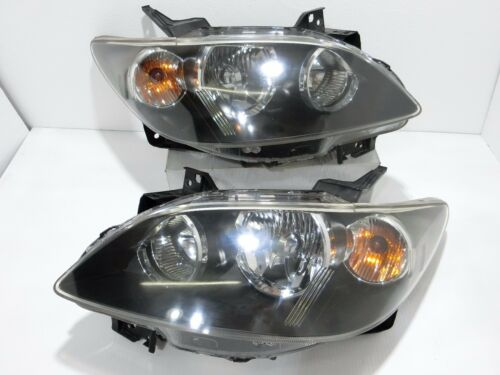 JDM Mazda MPV LW3W 2nd GEN 04-06 HID Headlight Lamps Lights BLACK 1 Pair LH /& RH