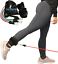 Ankle Kickback Strap w// Resistance Bands for Butt /& Hip Exercises Glute-Tastic