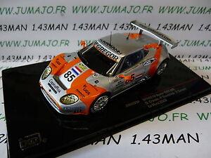 voiture-1-43-IXO-24-Heures-MANS-SPYKER-C8-spyder-GT2R-85-2006-LMM223-Crevels