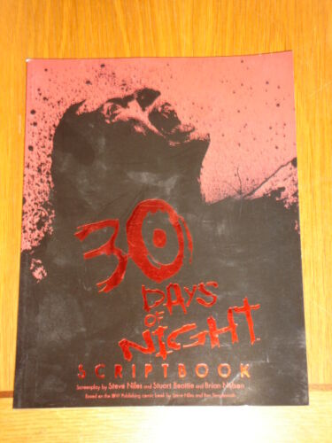1 of 1 - 30 DAYS OF NIGHT SCRIPTBOOK STEVE NILES BRIAN NELSON GN 9781600101267