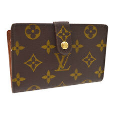 Louis Vuitton M61663 Monogram Porte Monnaie Viennois Bifold Wallet - Brown