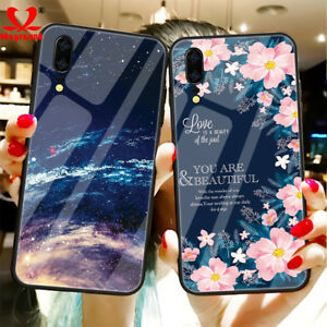 3D-Painted-Luxury-Temper-Glass-Hard-Case-Cover-For-Huawei-Mate-20-P20-Pro-Lite