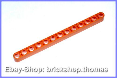 NEU NEW Lego Technic Liftarm orange Lochbalken 1 x 13 breit 41239
