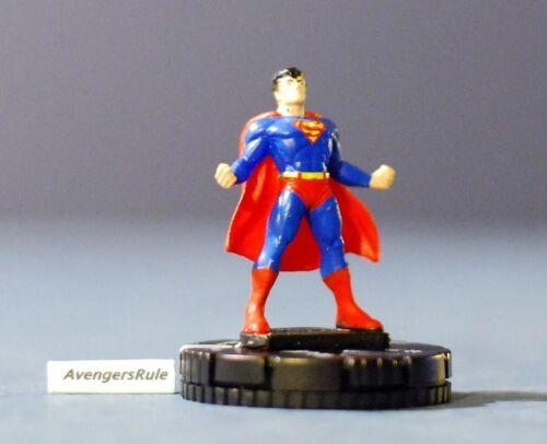 DC Superman Heroclix 001 Superman Common Avengersrule2002