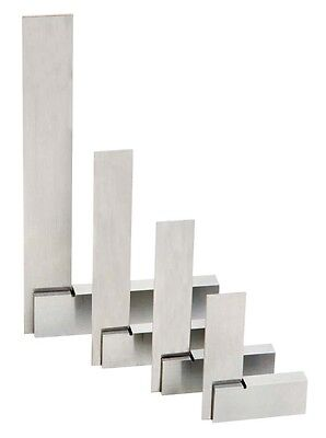 "4 Pc Machinist Stainless Steel Square Set 2/"" 3/"" 4/"" 6/"" Precise to .0006/"" New"