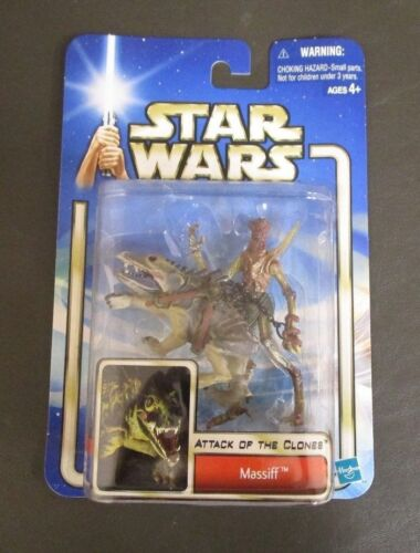 2002 STAR WARS THE SAGA COLLECTION Comme neuf on Card #34 Massiff avec Geonosien