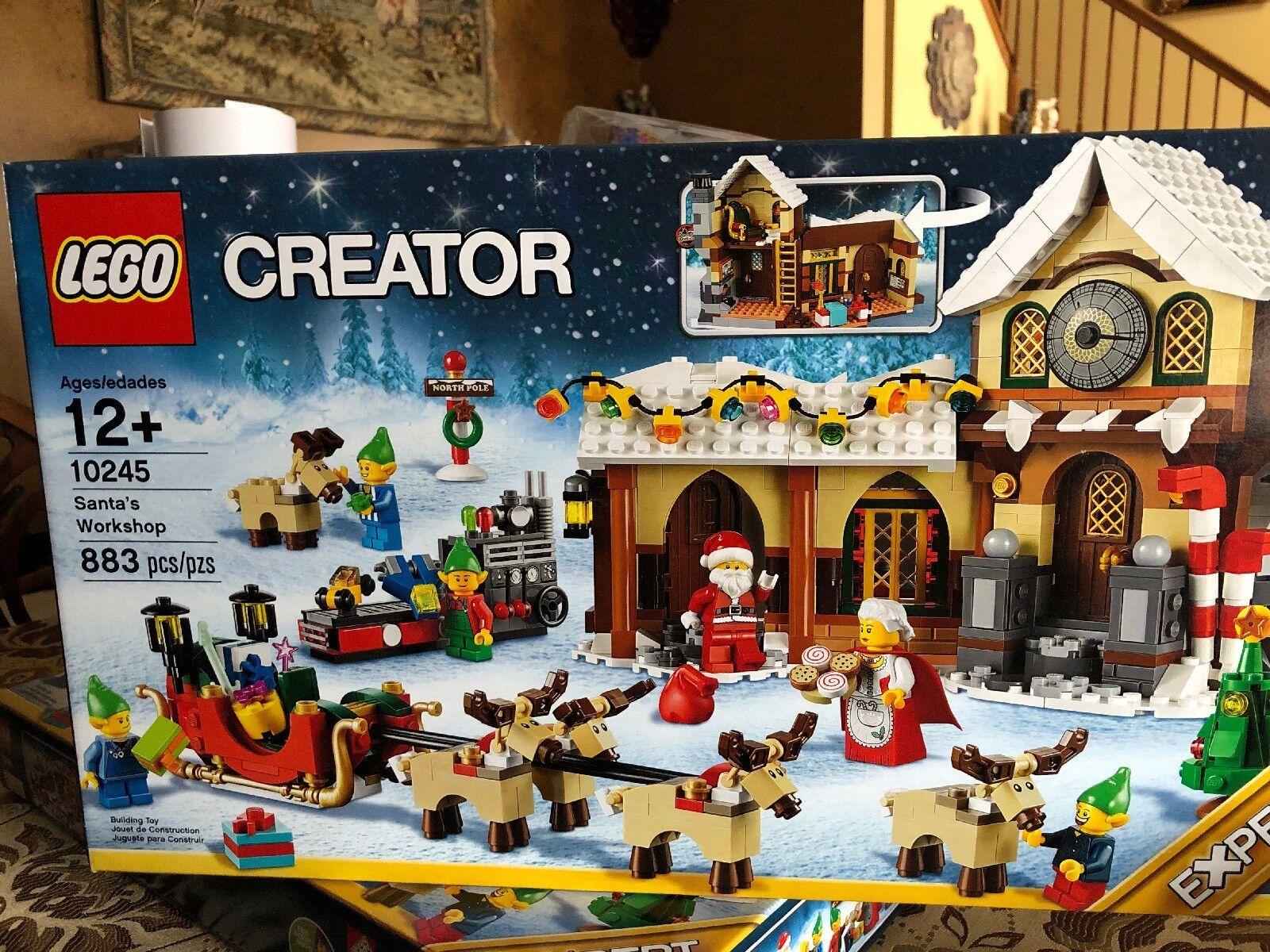 edizione limitata a caldo LEGO Santa's Santa's Santa's lavoronegozio - Creator 10245 Holiday Set - nuovo Sealed (Retirosso Set)  prezzi bassissimi