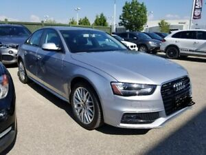 Audi A4 2015 silver Quattro S Line | AWD | Heated Seats |