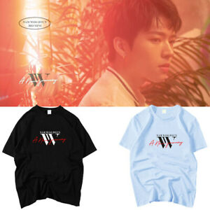 Kpop-Nam-WooHyun-T-shirt-A-New-Journey-Album-Tshirt-Infinite-Tee-E030