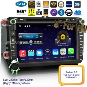 Android-8-0-Autoradio-DAB-For-VW-PASSAT-GOLF-MK5-6-TOURAN-CADDY-JETTA-BT-8-034-8805F