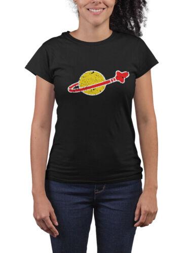 Femme LEGO inspiré de l/'espace T-Shirt-Sheldon Cooper Drôle Cool Cadeau Jouet Neuf