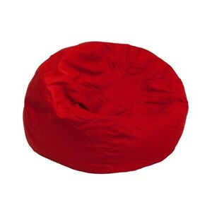 Stupendous Details About Flash Furniture Red Fabric Kids Bean Bag Red Dg Bean Small Solid Red Gg Caraccident5 Cool Chair Designs And Ideas Caraccident5Info