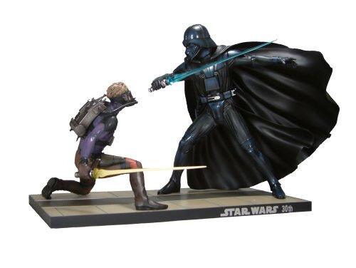 Star Wars Luke Skywalker vs. Darth Vader ARTFX Statue
