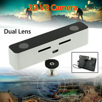 3d Digital Video Vr Camera Camcorder For Samsung Note3/4/5 Light Weight 2560x720