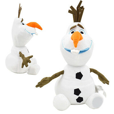 New Frozen Olaf 12'' 30cm Plush Soft Stuffed Snow Man Snowman Doll Kids Toy Gift