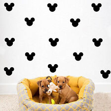 1 set Creative Multicolor Mickey Mouse Removable Wall Stickers Room Decoration