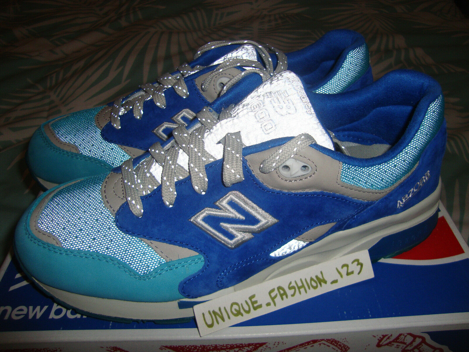NEW BALANCE 1600 NICE KICKS GRAND ANSE US 10 FIEG DAYTONA HANON 1500