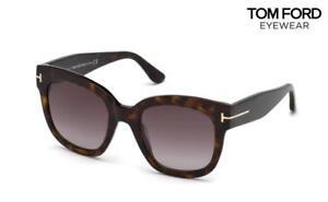 c2ea029d8ad0a Image is loading TOM-FORD-Sunglasses-Beatrix-02-TF613-52T-Havana-