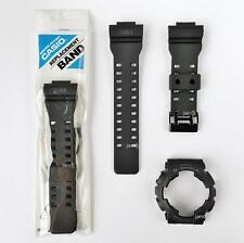 ORIGINAL G-SHOCK REPLACEMENT BAND & BEZEL for GD100MS-1 GD-100MS-1, BLACK MATTE